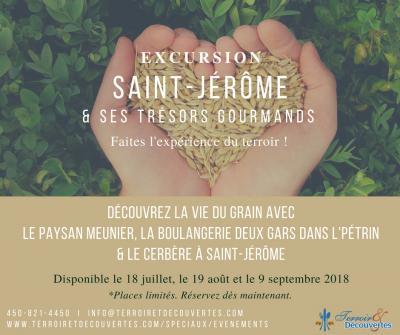 Excursion Saint-Jérôme et ses trésors gourmands
