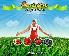 Fraisière La Jardinière