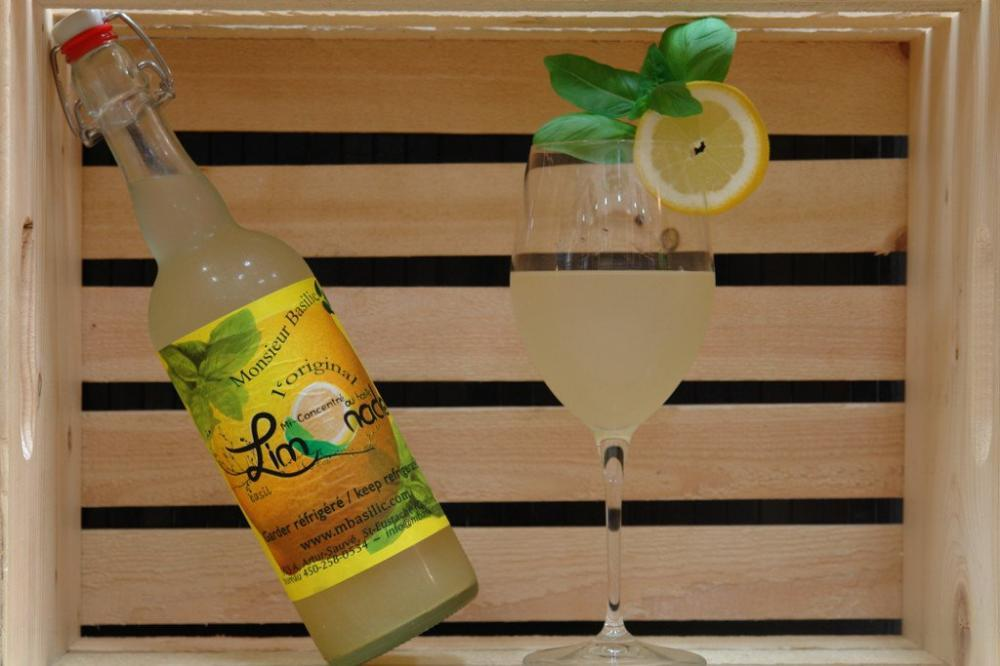 Limonade Monsieur Basilic