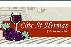 Vignoble Côte St Hermas