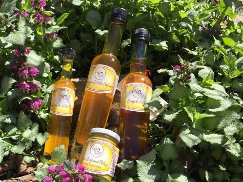 Vinaigre, sirop et moutarde de Québec Safran