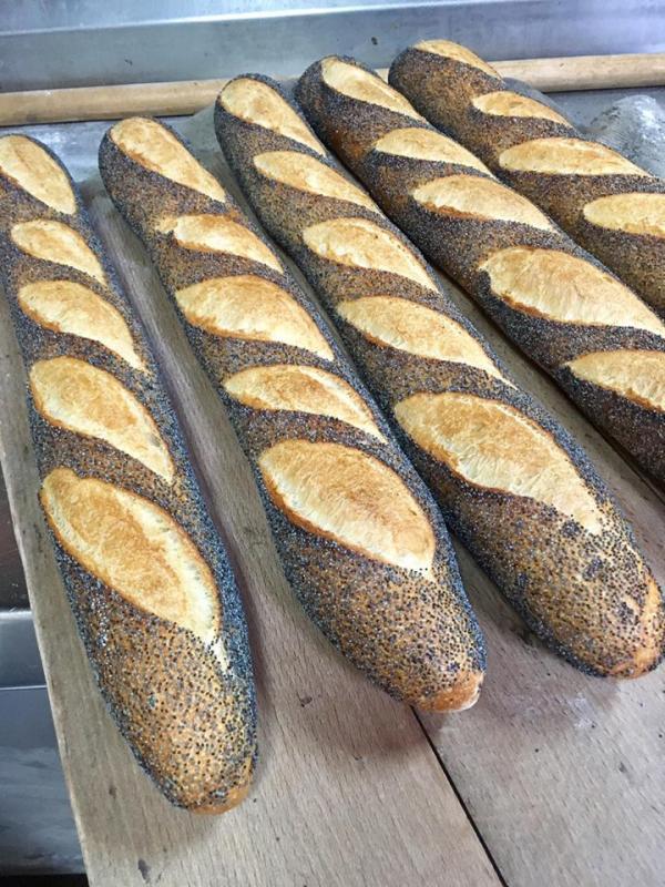 baguettes Pavot