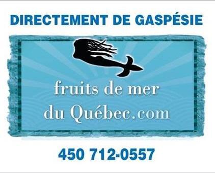 Fruits de mer du Québec