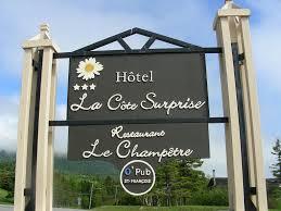 Restaurant Le Champêtre - Hôtel La côte surprise