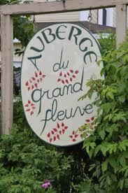 Restaurant de l'auberge du Grand Fleuve